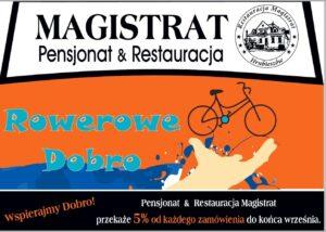 Magistrat – wspiera Rowerowedobro